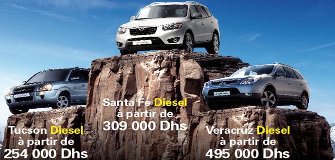 Hyundai 4×4 prix maroc