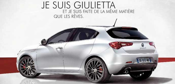 promotion alfa romeo giulietta prix de lancement 240 000 dh voitures maroc. Black Bedroom Furniture Sets. Home Design Ideas