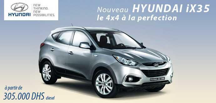 Hyundai 4x4 prix maroc